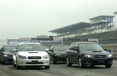 Subaru Legacy, Subaru Legacy B4, Subaru Legacy Wagon, 2003