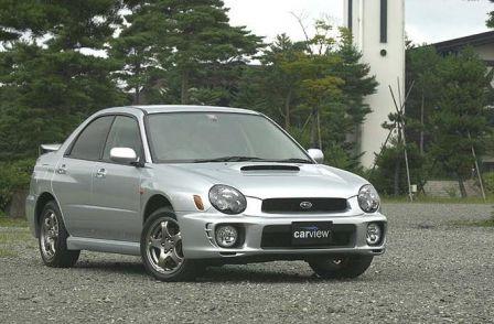 Subaru Impreza Wagon, Subaru Impreza WRX, 2001