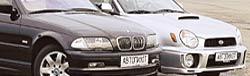 BMW 325Xi Touring, Subaru Impreza WRX Wagon