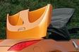 При подготовке машины к продаже большое внимание было обращено на то, как машина будет выглядеть со сложенной крышей. В частности, если автомобиль оборудован мягким верхом, тогда крыша собирается в специальную нишу под крышкой багажника. Такая конструкция признана более подходящей не только в плане дизайна, но и в плане обеспечения оптимального движения воздуха внутри салона и снижения аэродинамического сопротивления кузова.