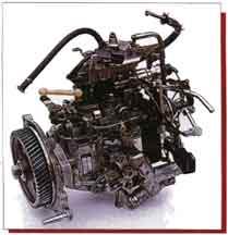 ТНВД фирмы Diesel Kiki (Nissan TD27T)