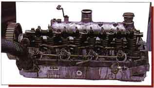 Головка двигателя Mitsubishi 4D56
