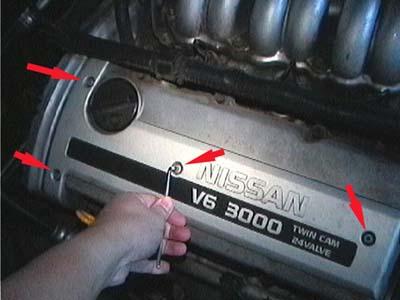 замена свечей на Nissan